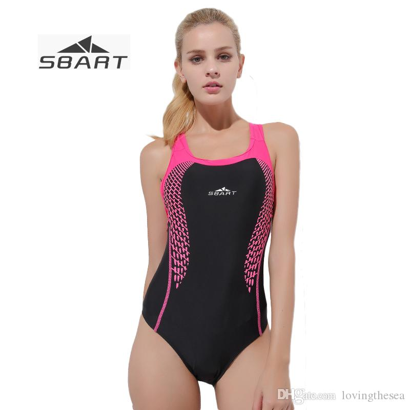 996a3b0a57 2019 SBART Plus Size Brief High Cut One Piece Swimsuit Women Girls Backless  Swimming Suit With Shoulder Strap Sexy Sports Sun Bathing From  Lovingthesea