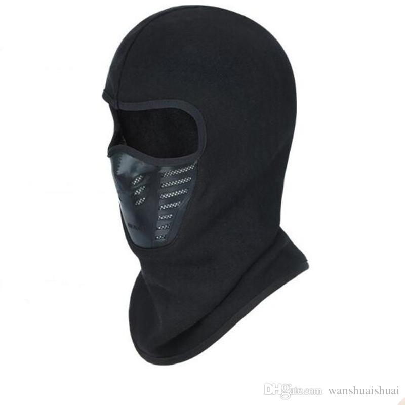 Motorcycle Balaclava Full Face Mask Warmer Windproof Breathable Airsoft Paintball Cycling Ski Shield Anti-UV Men Sun Hats Helmet