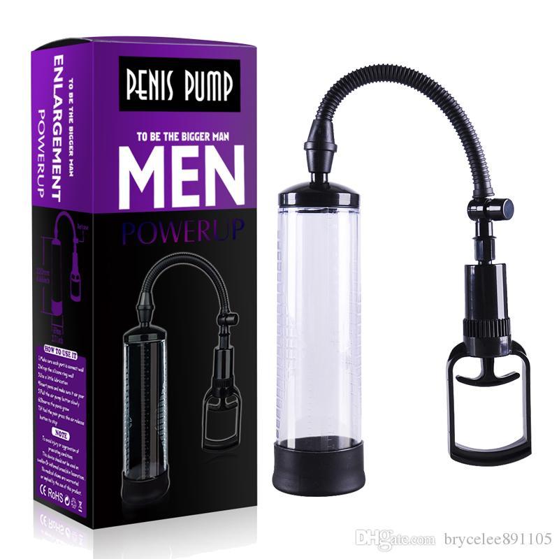 YUELV Penis Pump Enlarger Enlargement Vacuum Pump Beginner Male Penis Extender Sex Toys Extension Adult Sex Products For Men Gay