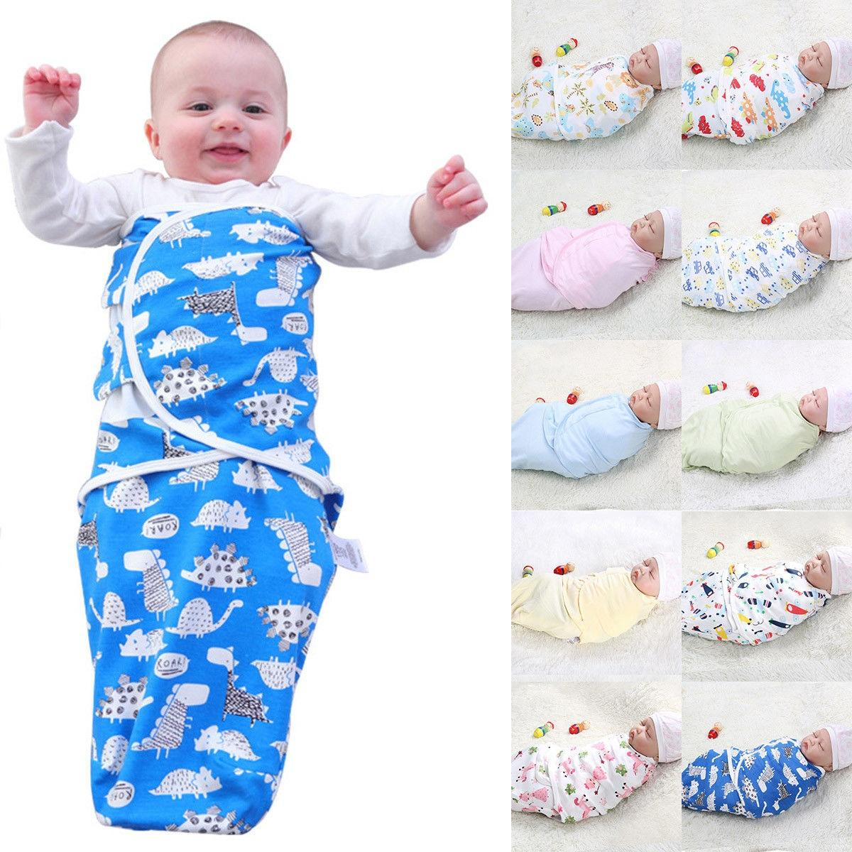 Newborn Lovely Baby Infant Cotton Anti Kick Quilt Addle Wrap