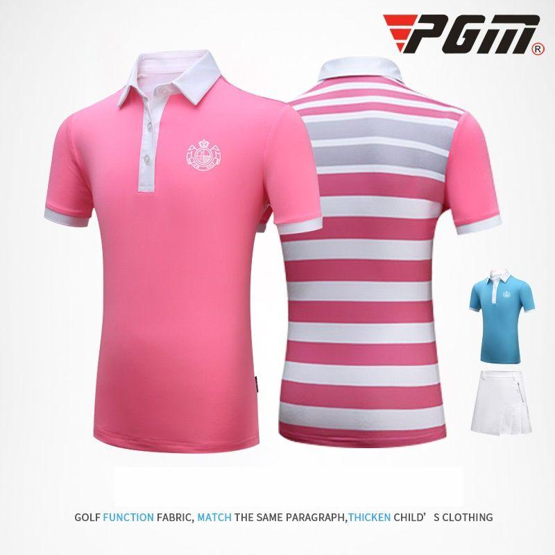 meet 404eb c1ae5 Mädchen Golf Sommer Shirt Röcke Set weibliche Bekleidung Quick Dry Kleidung  Set Kinder Tennis Badminton Sportwear Anzug AA60485