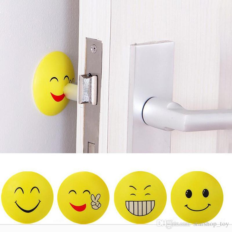 e4bfa23aa0 Expression Emoji Wall Stickers Round Corner Protectors Corner Cushions For  Glass Tables Shelves With 3M Sticker Baby Safe Mix Color TY7 226 Boys Wall  Decals ...