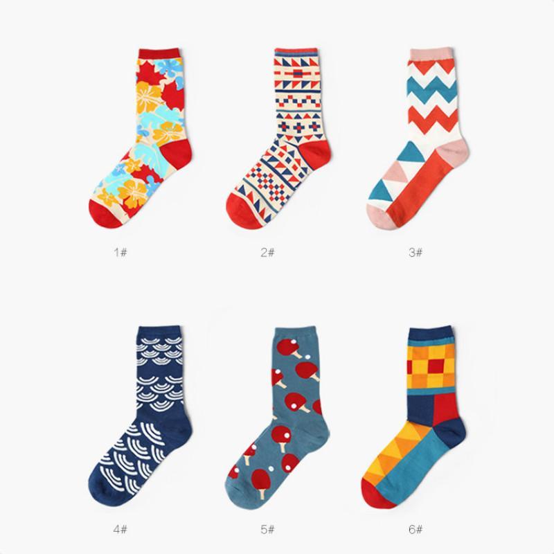 Großhandel Hohe Qualität Marke Designer Glücklich Socken Britischen ...