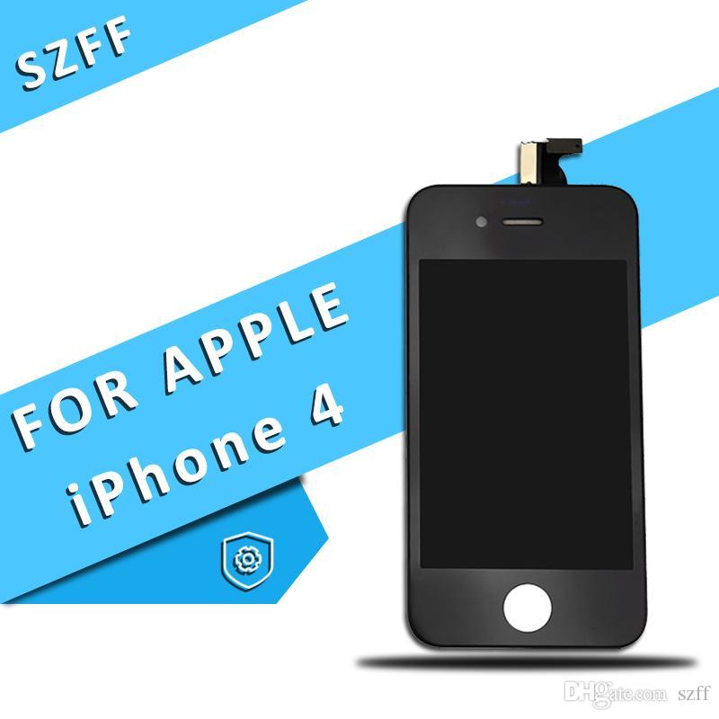 3898432a6a2 Repuestos Moviles Para IPhone 4 / 4s Pantalla LCD Pantalla Completa  Asamblea Con Pantalla Táctil Digitalizador Alta Calidad Venta Al Por Mayor  Envío ...