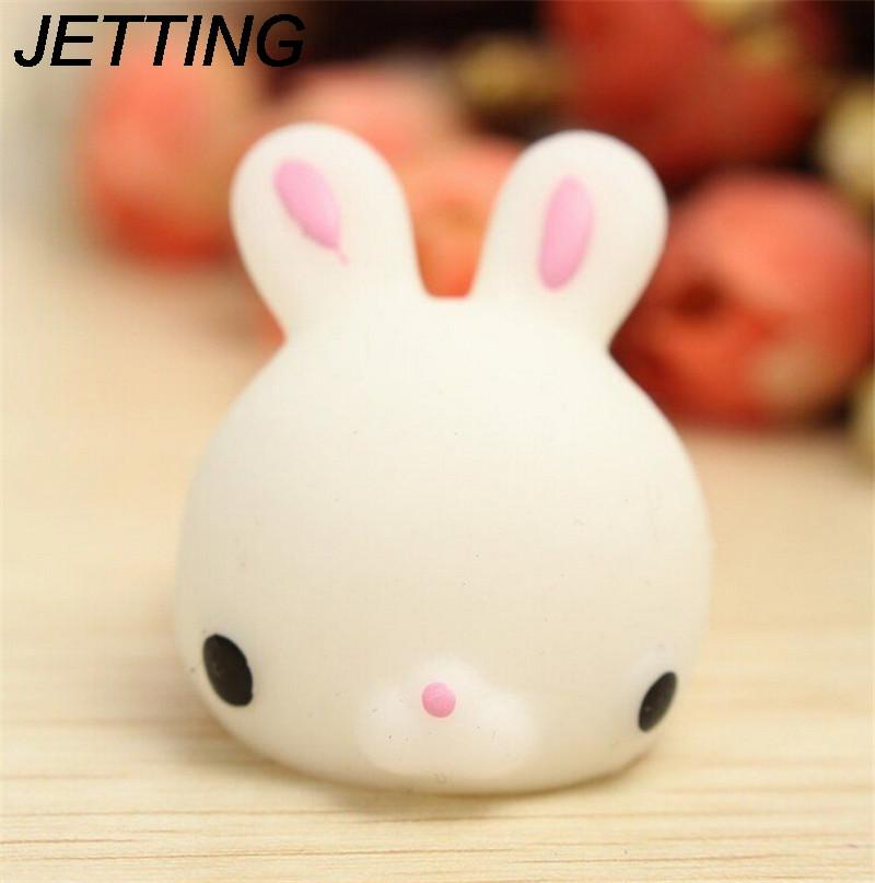 Official Website 1 Pcs Strap Squeeze Stretchy Cute Pendant Kids Toy Gift Cat Slow Rising Kawaii Mini Mochi Bunny Bag Accessories Luggage & Bags