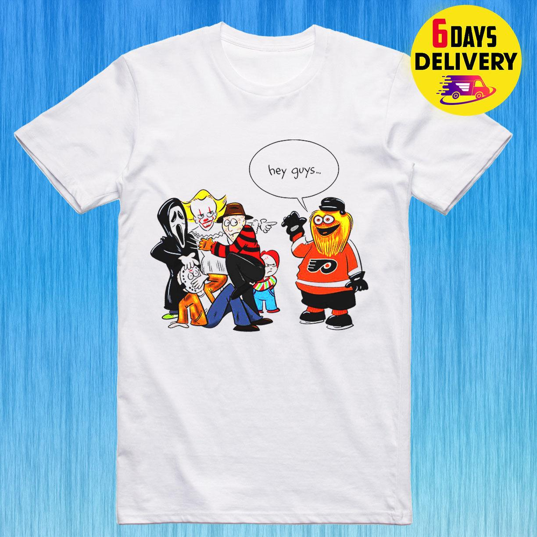 a0043bcf092 Halloween Shirt Funny Gritty Philadelphia Flyers Halloween T Shirt Size S  3XL Vintage T Shirts Band T Shirts From Xm23tshirt, $12.05| DHgate.Com