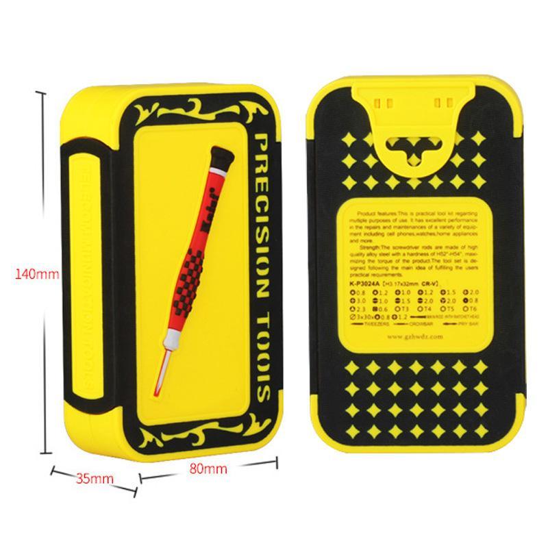 Çok fonksiyonlu Cep Telefonu Sökülmesi 24 1 Onarım Sökme Araçları Kiti Bilgisayar iPhone Samsung Için Tornavidalar