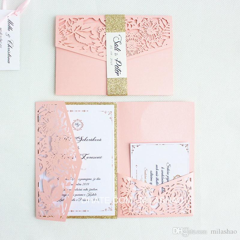 luxury pocketfold wedding invitations high quality burgundy blue