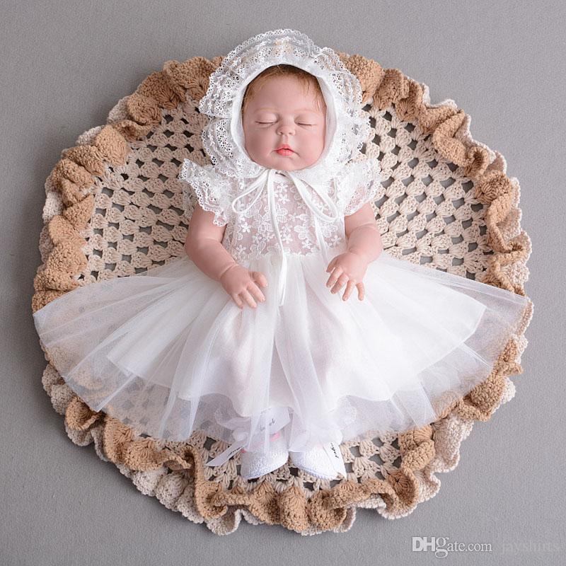 Acquista Vestito Da Battesimo Neonato Bambini Vestito Da Principessa