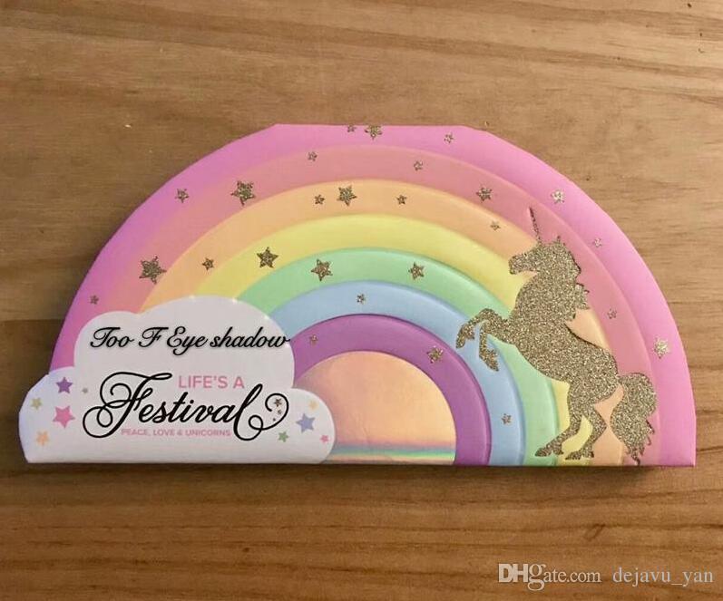 Neueste Zu F LEBEN Ein Festival Lidschatten-Palette Lidschatten Too F CED Pfirsiche Lidschatten Make-up Kosmetik