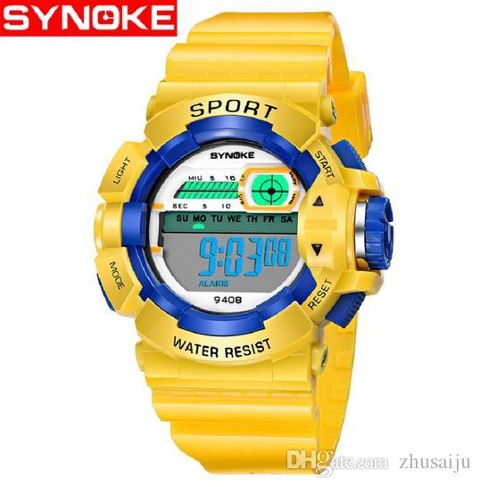 Watches Synoke Fashion Children Watches Kid Boy Digital Led Quartz Alarm Date Sports Wrist Watch Relogio Masculino For Boys Girls Gift Discounts Sale