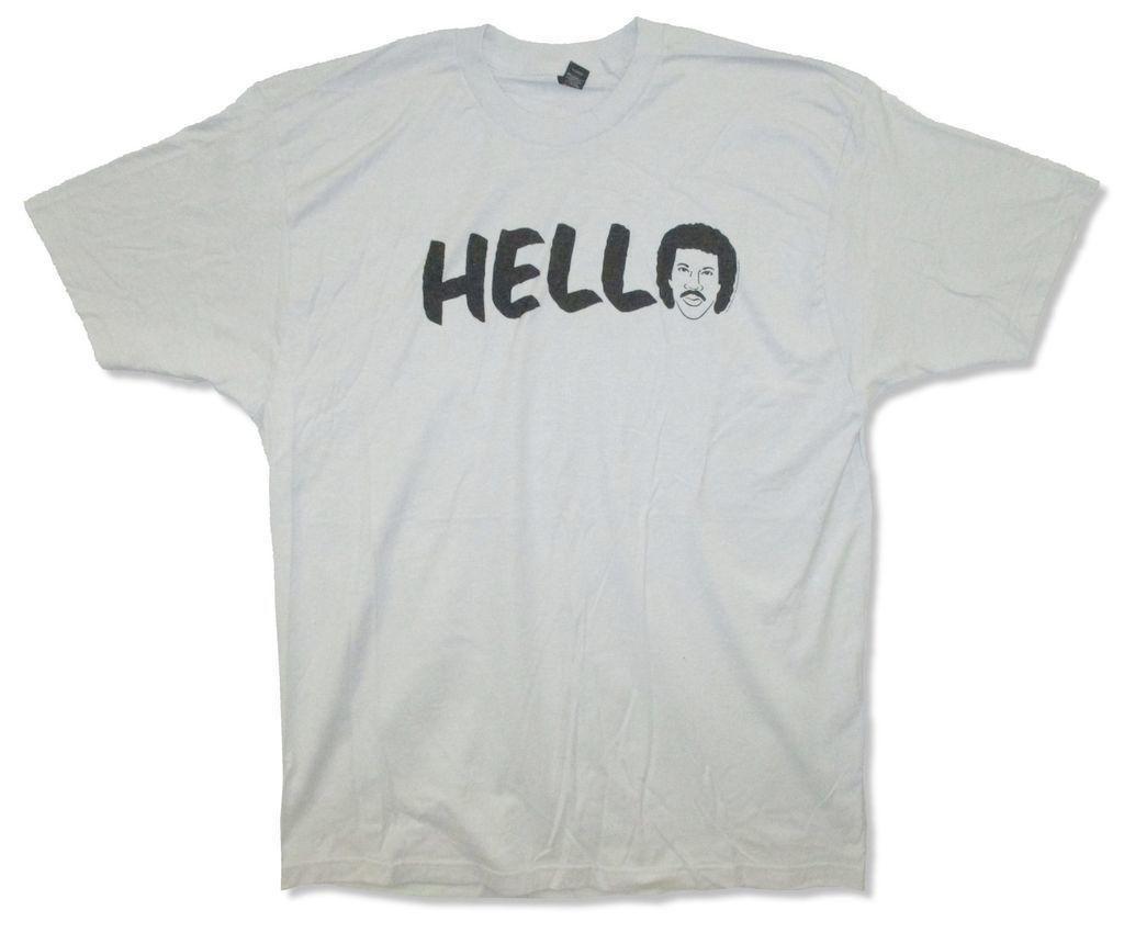 Adult Lionel Nuevo Comprar Grey Richie Hello T Shirt Sketch DHYEW29I
