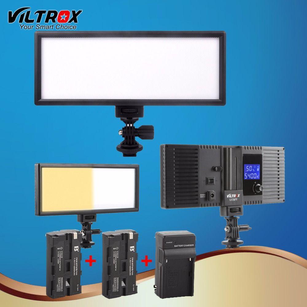 Grosshandel Viltrox L132t Led Studio Videoleuchte Lampe Ultra Thin Bi
