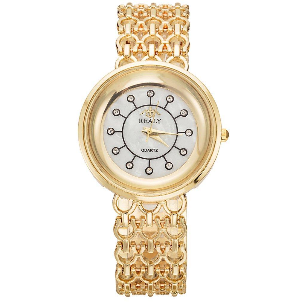 529e823a0432 Compre Moda Mujer Reloj De Cuarzo Pulsera De Aleación Casual Brillante  Diamante Charm Band Cadena Universal Portable Unisex Relojes Deportivos A   38.57 Del ...