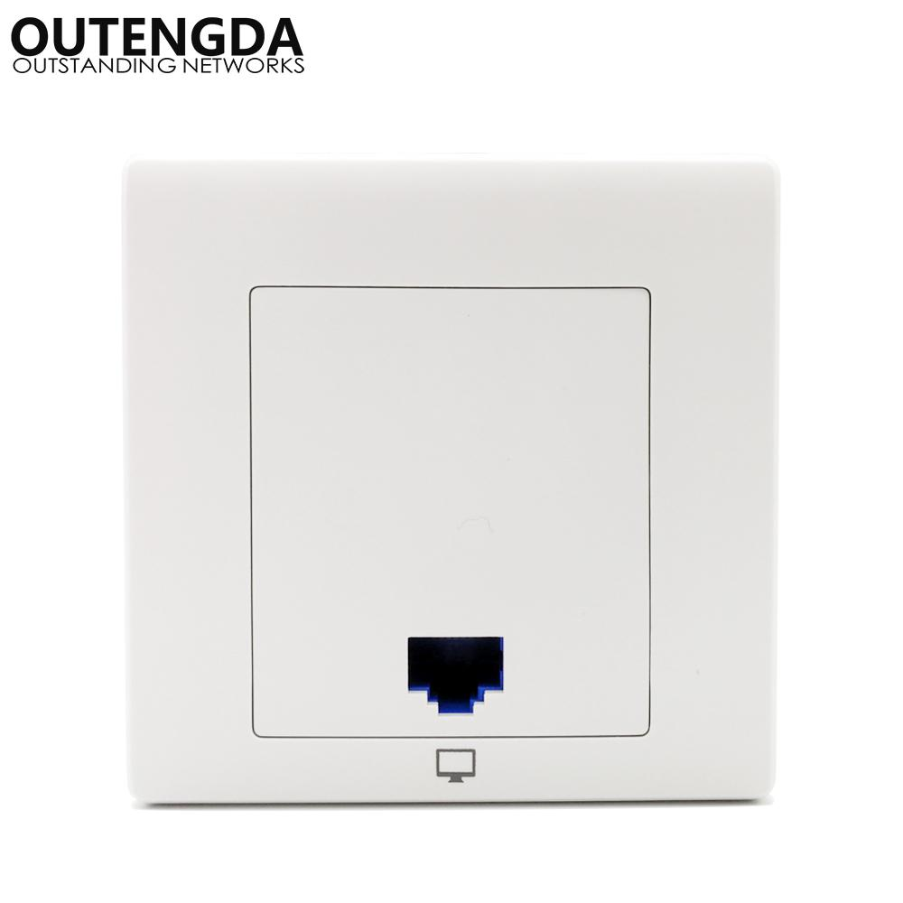 300mbps In Wall Access Point Wall Mount Wireless Socket