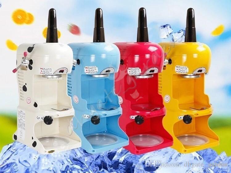 110 V 220 v Comercial Shaver Máquina de Gelo Taiwanese Máquina De Gelo Máquina De Gelo Shaved Ice Cream Shaved Neve Elétrica Shaved Snow Maker