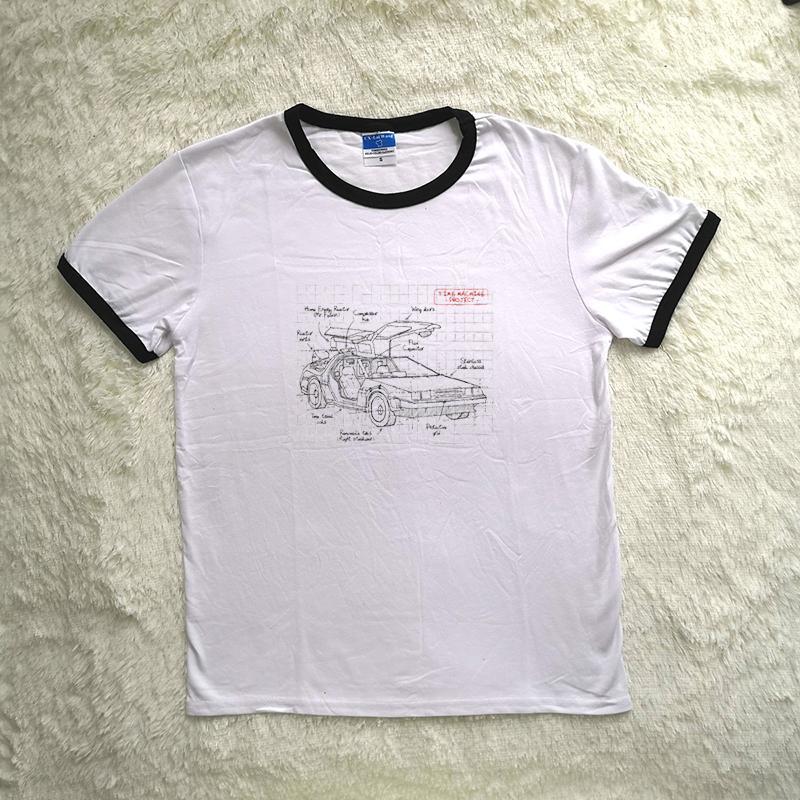Compre Caipira J 585 Camisola Time Machine Design Imagem Criativa Impressão  Das Mulheres Camisola De Manga Longa Na Moda Das Mulheres T Shirt Branca De  ... f0aff5bfa4102
