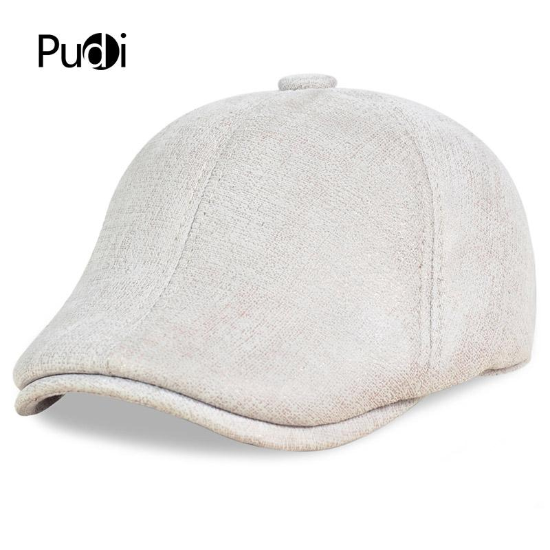 f7b392637 HL113 Real Leather Baseball Cap Hat Winter Warm Russian Old Men Beret Newsboy  Ear Flap Caps Hats With Real Wool Fur Inside Ny Cap Mens Caps From Pudi, ...