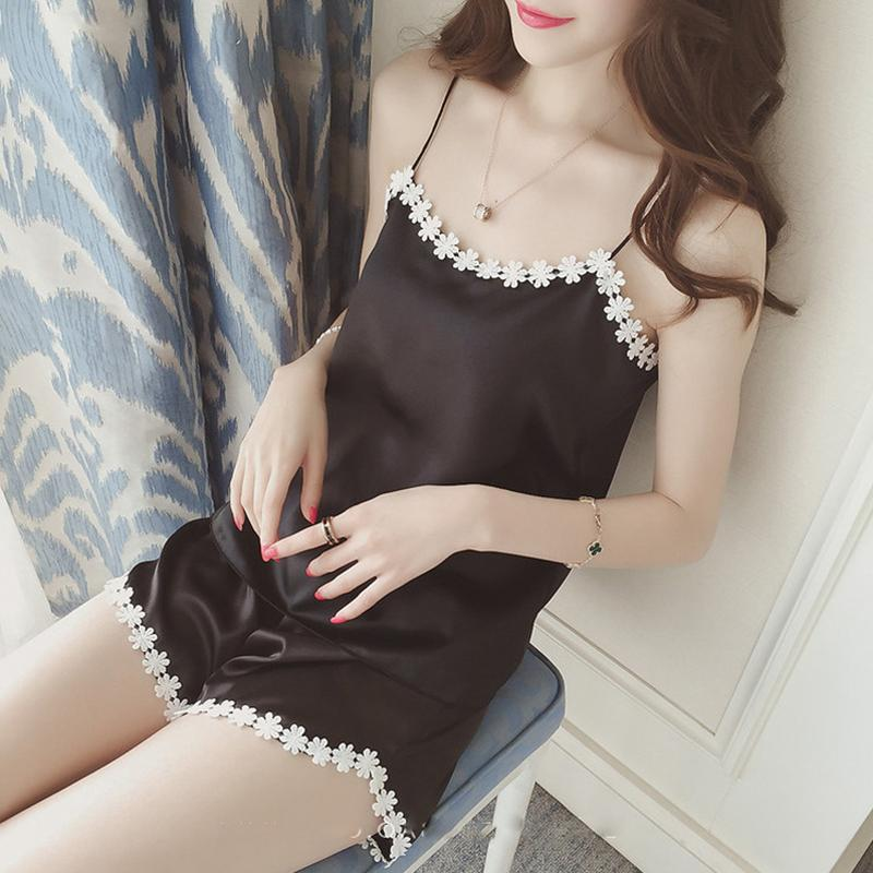 2019 Womens Pajamas Lace Women Pajamas Set Clothing For Women Homewear  Indoor Clothing Lady Lovely Cute For Women S Sleepwear From Tanggo 3b16f98d3