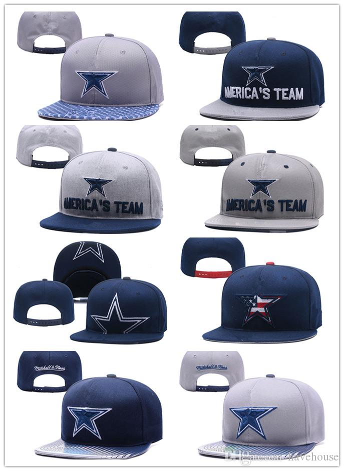 2018 Wholesale Dallas Adjustable Embroidery Cowboys Snapback Hats