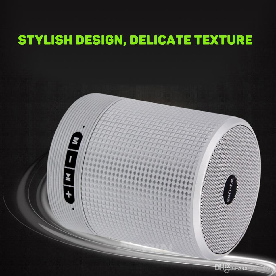Portable Bluetooth Fabric sound speakers Wireless Mini TWS Bluetooth Stereo Speaker With FM Radio Support TF USB Card AUX Line In Hi-Fi Mp3