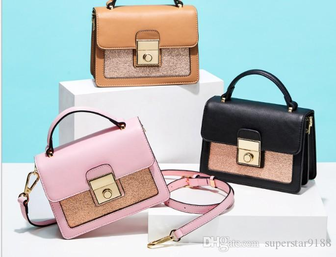 889e57350f75 Fashion Princess Handbags Summer Korean Mosaic Small Square Package 2018 New  Fashion Shoulder Messenger Bag Factory Outlet Bag Online with  47.9 Piece on  ...
