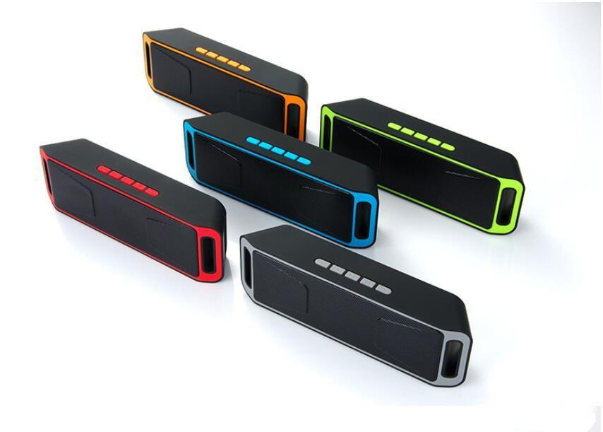 SC208 Mini Portable Bluetooth Speakers 2018 Hot Items Good Quality Wireless Music Player Big Sound Subwoofer Support TF USB FM Radio