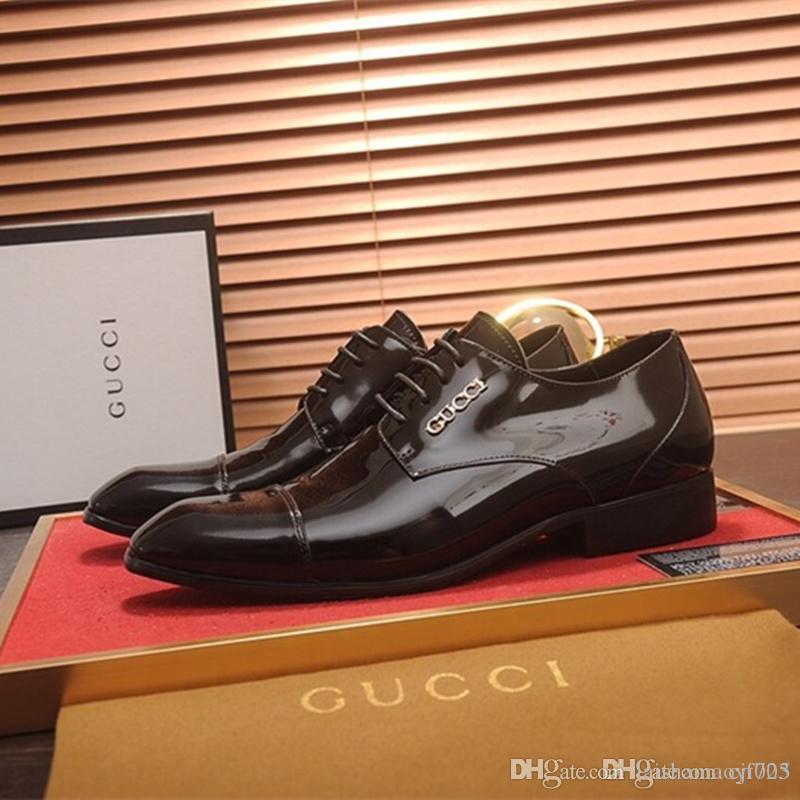 Flache 38 Leder Kleid Größe Oxford Slip Loafers Party On Marke Echtes 45 Männer Designer Casual Style Schuhe Hochzeit uTK1c3Jl5F