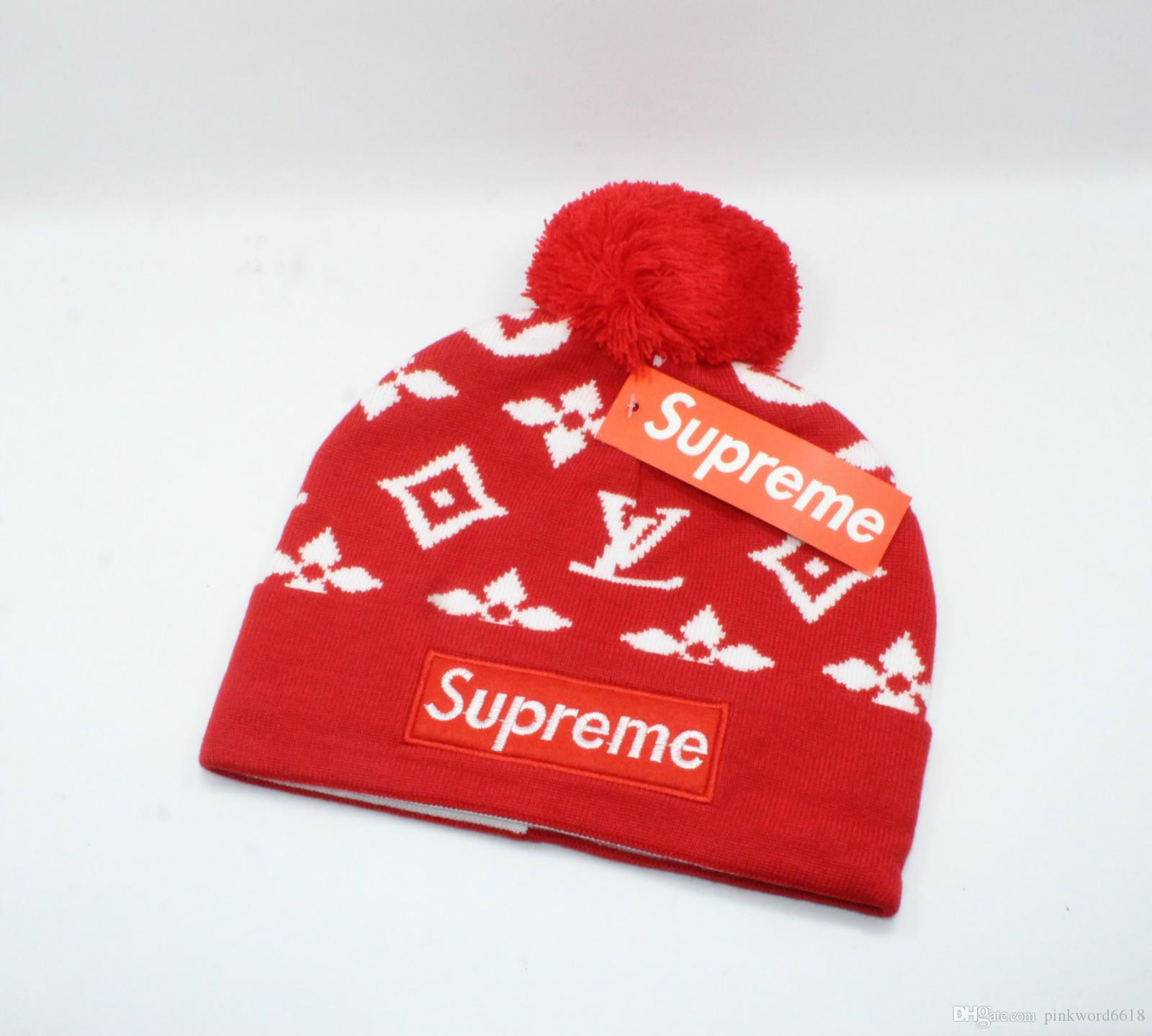 European And American Brands Beanie Autumn Winter Warmth Ski Hats Men And  Women Luxury Fashion Hats W66 02 Custom Hats Mens Hats From Pinkword6618 f9c03a0669a3