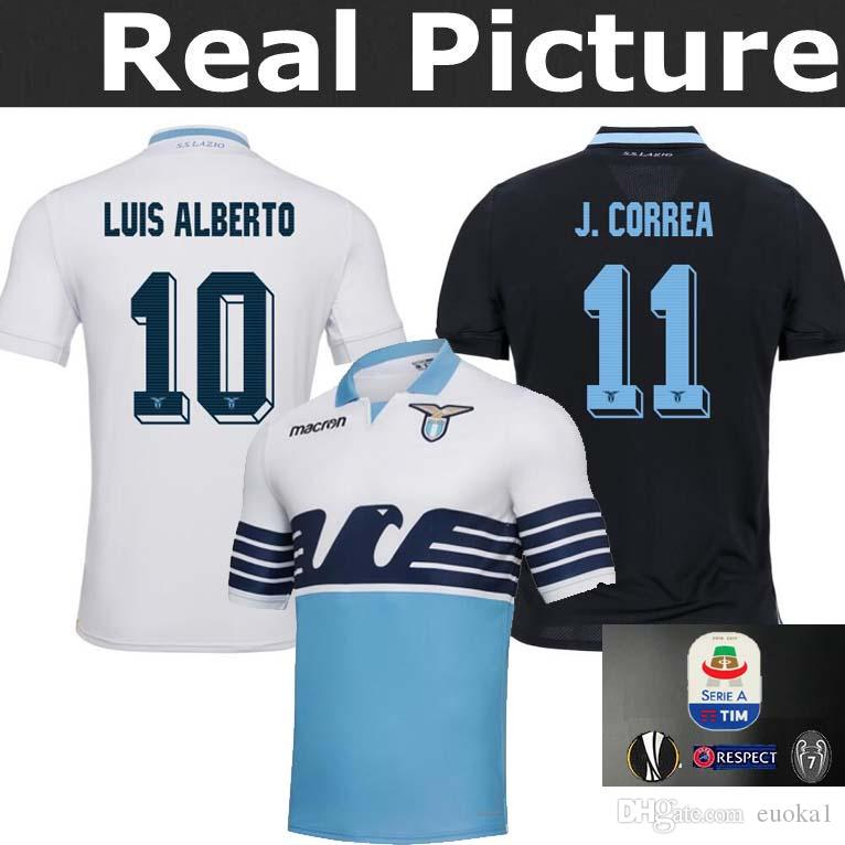 e34eecd91 2019 TOP Best THAILAND 2018 2019 Lazio Jersey Europa League Home Away THIRD  IMMOBILE SERGEJ RAMOS F.ANDERSON LUCAS KISHNA 18 19 Rugby Shirts From  Euoka1, ...
