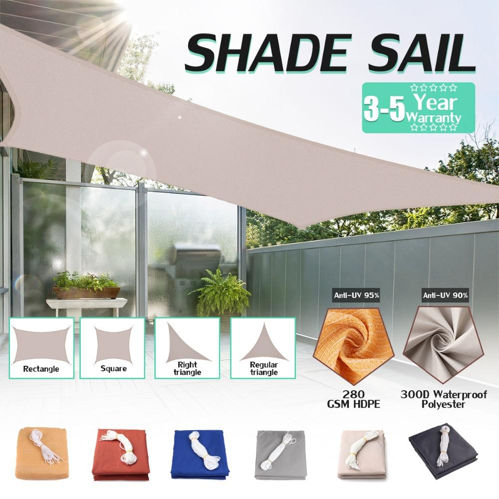 300d Waterproof Polyester Awning Regular Triangle Extra Heavy Duty