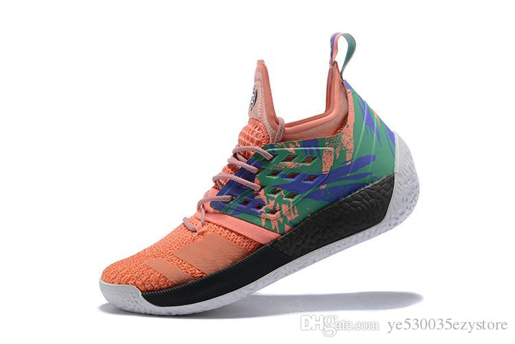 4f842bcbc53 2019 2018 NEW Arrival James Harden Vol.2 Men S Basketball Shoes Vp Vol.2 MVP  Training Sneakers Sports Shoes Designer Shoes Size 40 46 From  Ye530035ezystore