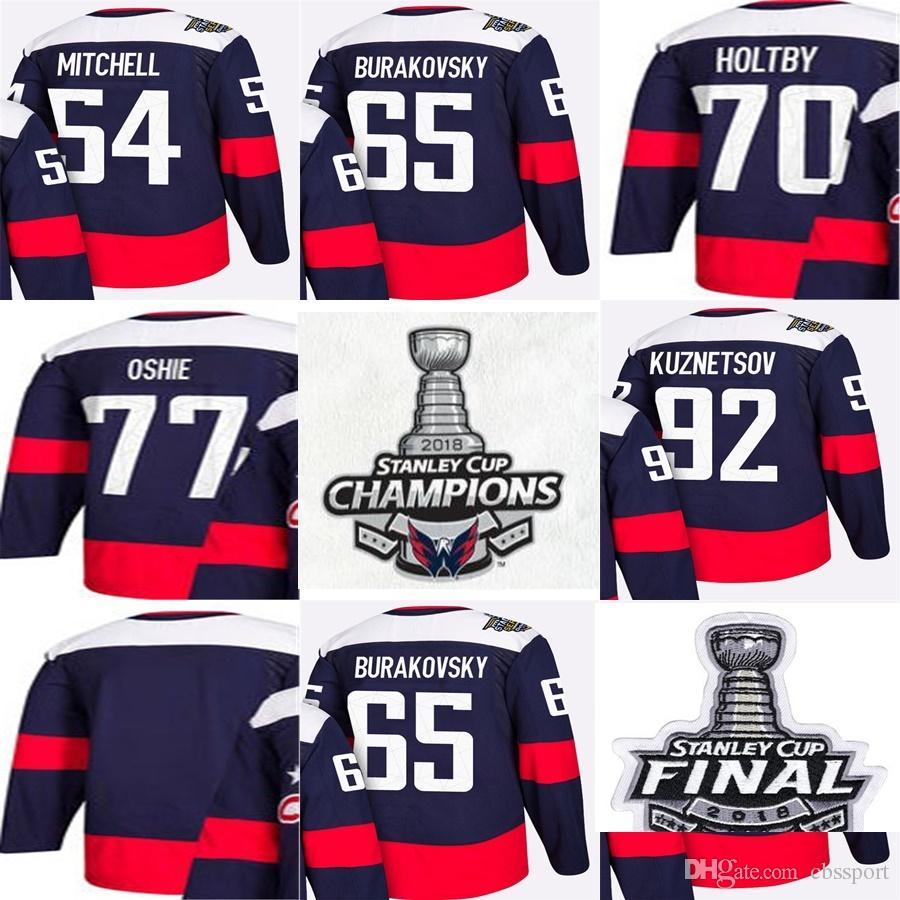 db00e4e212e 2018 Stanley Cup Final Champions Washington Capitals 54 Mitchell 65 ...