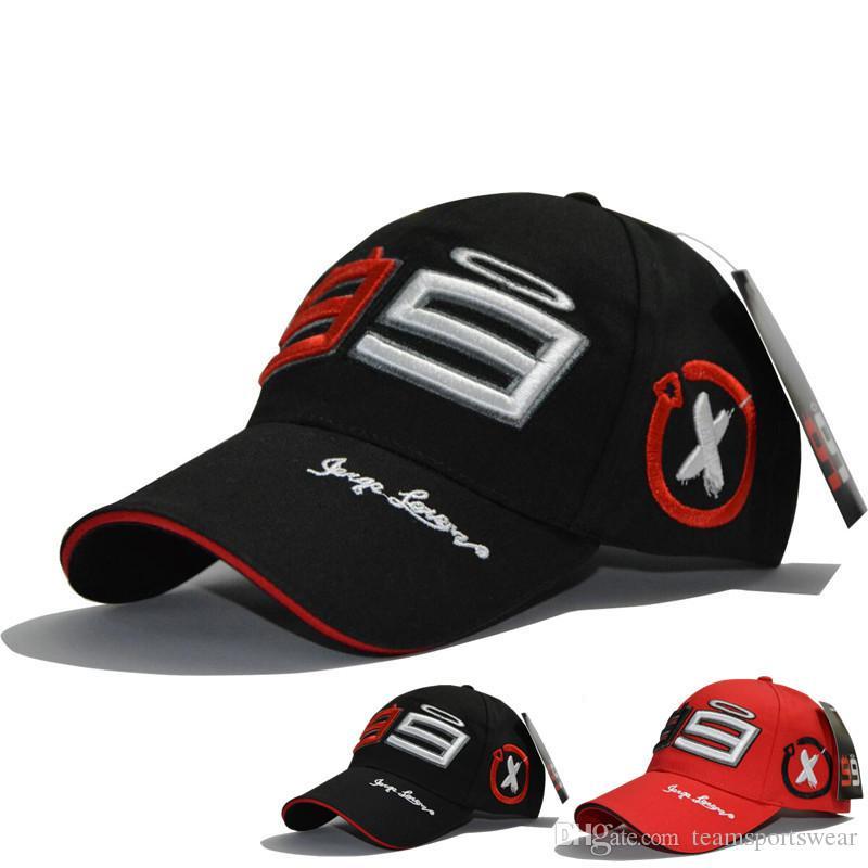 2019 Racing Cap MOTO GP Jorge Lorenzo 99 Baseball Caps Motorcycle Gorra Fashion Hat Men Women Outdoor Sports Hats Embroidery Brand New From