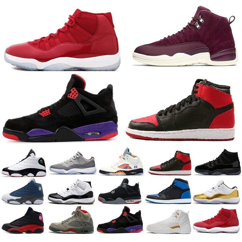 3f701015242fe4 Acquista Nike Air Retro Air Jordan Scarpe Da Basket Da Uomo 4s Premium  Triple Nero Bianco Cemento Scarpe Da Ginnastica In Pelle Scamosciata Blu  Metallizzata ...