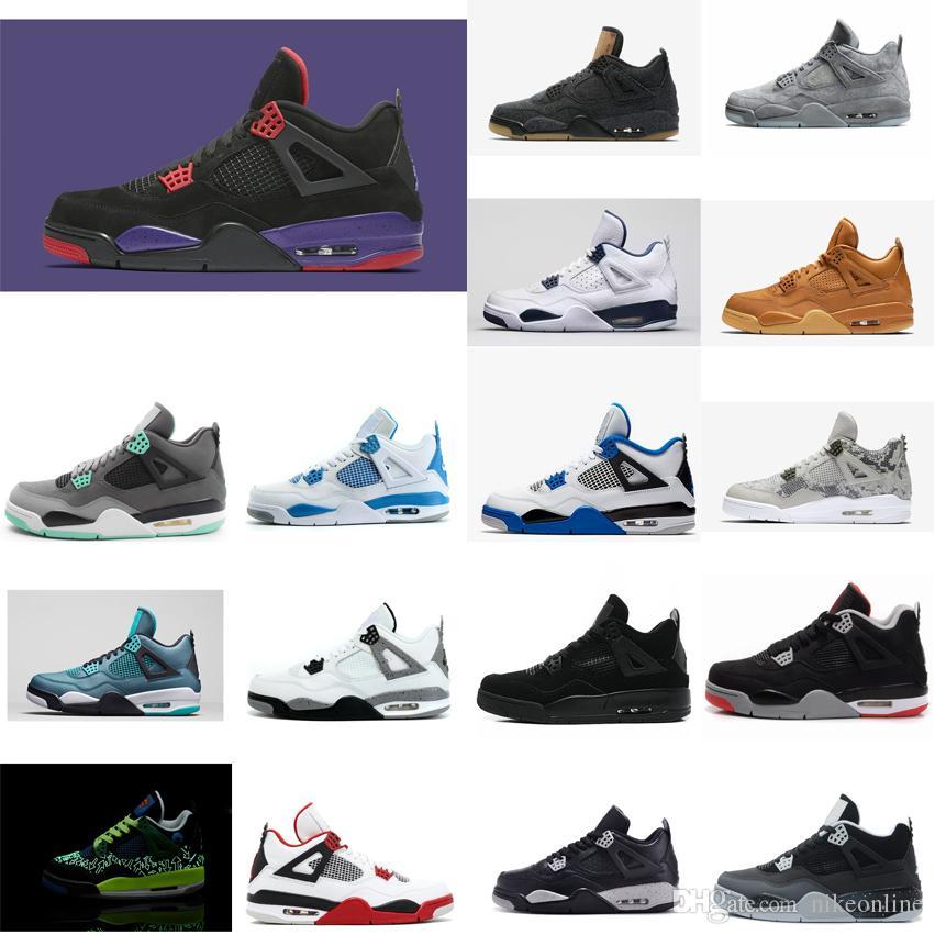 d8741b16b71 Cheap Womens Jumpman 4 IV Basketball Shoes 4s NRG Raptors Black ...