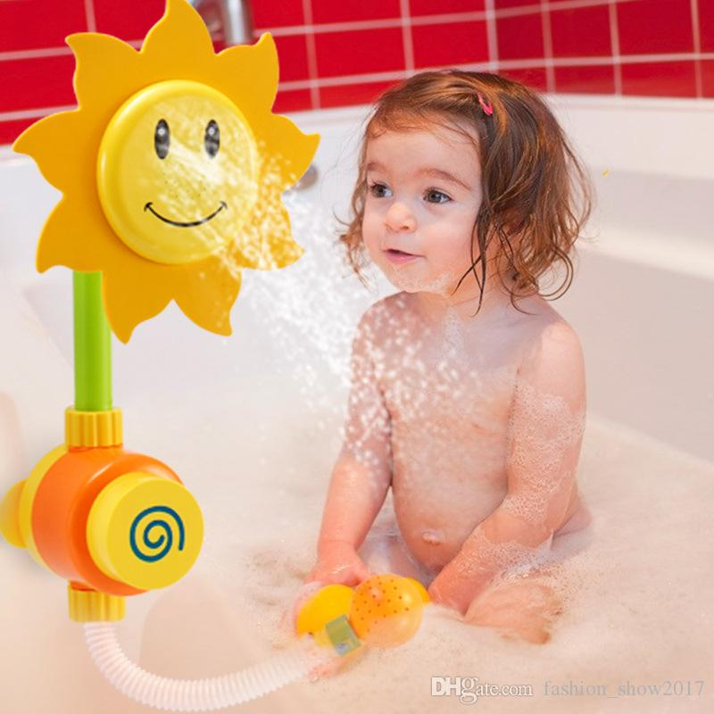 2020 Hot Classic Toys Sunflower Baby Bath Toys Water