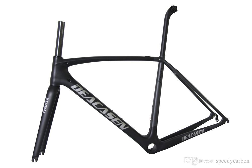 2018 New Carbon Road Bike Frame And Mechanical Racing Bike Carbon ...
