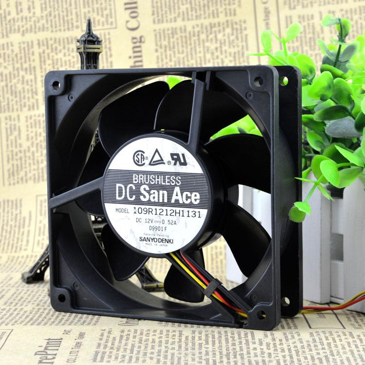 For brand new original mountain ocean 109R1212H1131 DC12V 0.52A 12 cm 12038 inverter fan