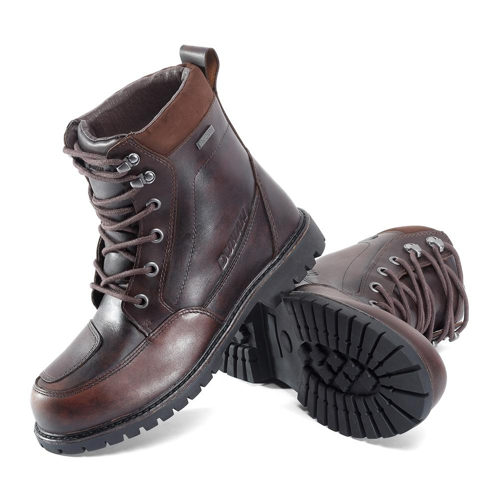 Motorcycle Leather Boots Men Waterproof Moto Boots Vintage Outdoor  Motocross Off Road Motorcycle Shoes Riding Biker UK 2019 From Bestliner 9f14f0dc6518