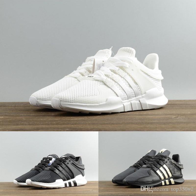 7c4f80563ae ... germany 2018 cheap original adidas eqt support adv 2018 women men  running shoes black white sports