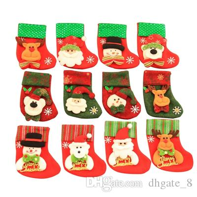 Vintage Outdoor Christmas Decorations For Sale.Christmas Sequin Stocking Socks Xmas Children Candy Bag Vintage Christmas Home Party Decoration Christmas Gift Socks Yfa11