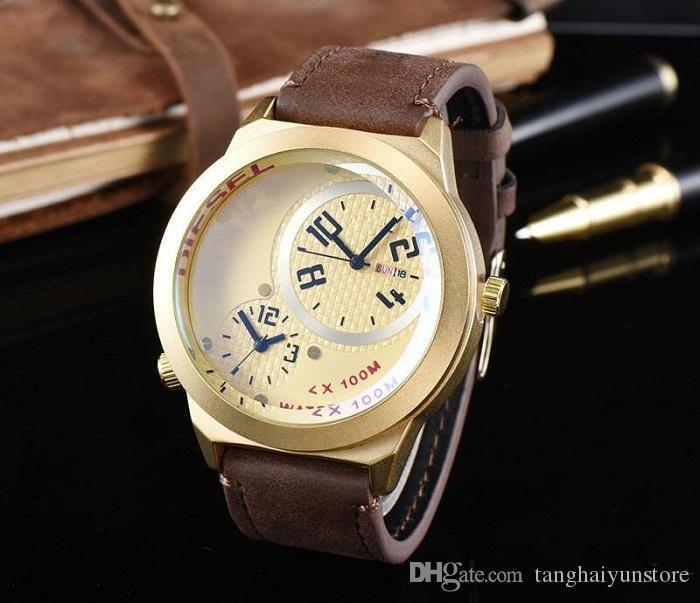 ce2ddbe2b50a Compre Nuevo Reloj De Moda A Prueba De Agua De Alta Calidad 3ATM AAA Vio  Atmosf Clock Hombre Relojes De Cuarzo De Lujo Marca Top Watch Reloj De  Regalo De ...