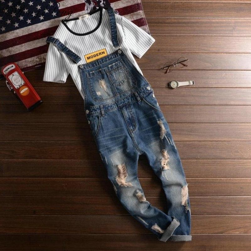 750324cbde33 2019 Jeans Men 2018 Mens Rompers Male Denim Jumpsuit Denim Overalls Men  Jumpsuit Male CC454 From Beasy114