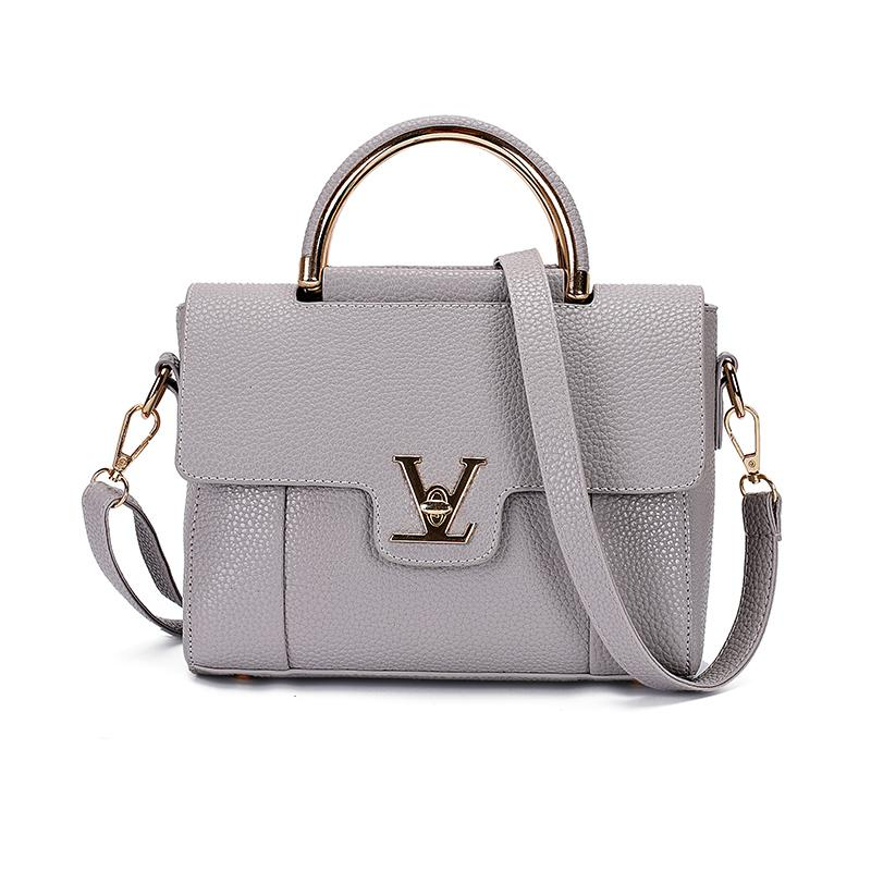 1f3f7c7cce1 Flap V Women s Luxury Leather Clutch Bag Lady Handbags Brand Female  Messenger Bags Sac A Main Femme Famous Tote Bag Freya Safi