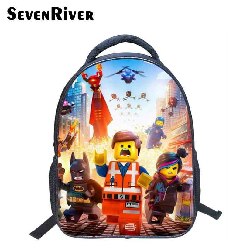 e7bd27e1a Acquista 13 Pollici Di Alta Qualità Lego Batman Fumetto Zaino Colorato  Bambini Schoolbags Fresco Bambino Studente Ragazzo Sacchetto Di Scuola Lego  Y18110107 ...