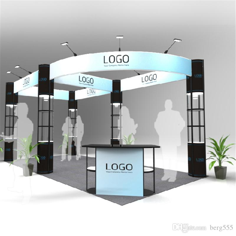 Exhibition Booth Outdoor : Standard ft portable trade show modular booth