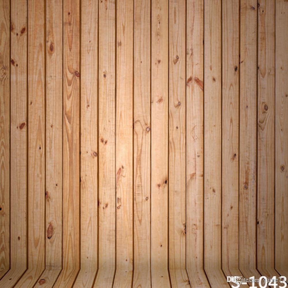 2018 5x7ft Vinyl Light Color Wood Wall Floor Photography Studio ...