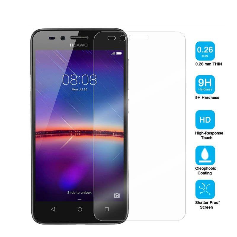 0 26mm 9H Tempered Glass For Huawei Y3 II 2 2016 4 5inch LUA-L21 LUA L22  U22 L02 L03 LUA L21 Screen Protector Protective Film