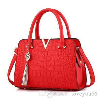 Famous Brand Designer Fashion Women Bags Luxury Bags Lady PU Leather ... a25de11a54e97